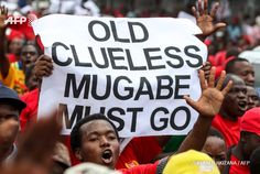 Ele & Elis Blog: Zimbabwe: Anti-Mugabe protest in Harare (Photos)