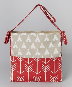 Take a look at this Brownie Gifts Teepee Diaper Bag today!
