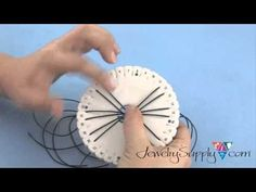 Beading4perfectionists : Kumihimo bracelet : basic braid beginners tutorial - YouTube