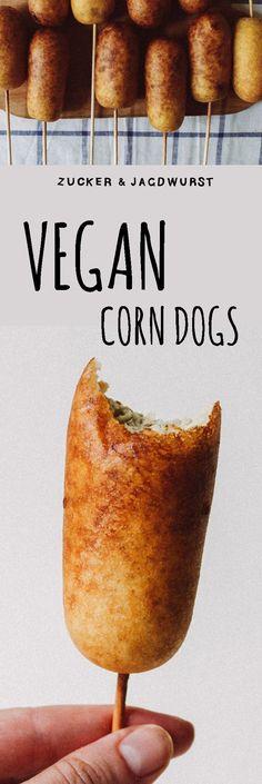Vegan Corn Dogs