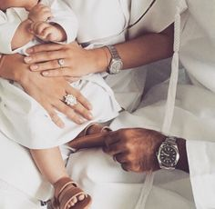 family, baby, and white image