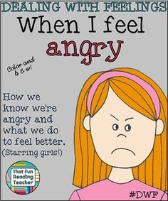 When I Feel #Angry is a children's story about recognizing, expressing and managing anger. #Printable, in color and b&w! #DWF $