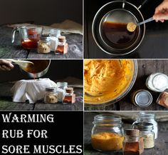 Warming Rub For Sore Muscles | Heart Craft