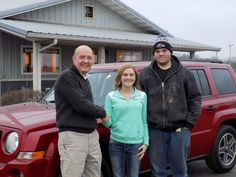 Many Thanks to Miranda Golbricht and Dylan Happs on th purchase of their 2009 Jeep Patriot Sport!! Congratulations!!