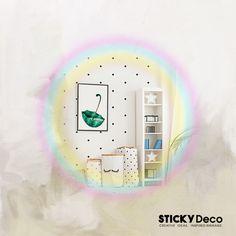 Αυτοκόλλητα μαύρο ΠΟΥΑ / STICKERS ΣΕΤ 100τεμ. Signage, Polka Dots, Wall Decor, Decoration, Creative, Inspiration, Wall Hanging Decor, Decor, Biblical Inspiration