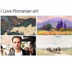 My favorite is in the bottom left corner. SEBASTIAN STAN.
