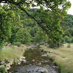 Glendalough Valley Wicklow Mountains National Park Ireland [1944x1944][OC]