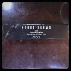 Skin Foundation Stick #10 Espresso shade. It has never been used/opened. Bobbi Brown Makeup Foundation