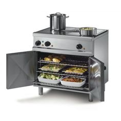 Commercial Catering Equipment : Electric Oven Ranges : Lincat OE7015 Opus 700 Electric Solid Top Range Oven