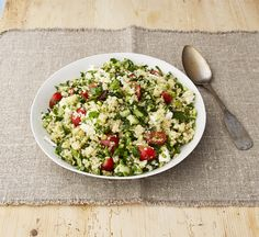 Food Network Magazine - Make it Ahead With Ina Garten Quinoa Tabbouleh With Feta