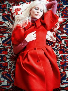 Kirsty Hume by Erik Madigan Heck for Harper's Bazaar UK September 2015