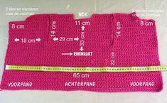 Vestje in madeliefsteek maat Baby Vest, Periodic Table, Diy Crafts, Crochet, Blog, Craft Work, Periodic Table Chart, Periotic Table, Make Your Own