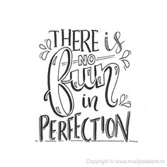 There is no fun In Perfection Calligraphy Quotes Doodles, Quotes Arabic, Doodle Quotes, Calligraphy Letters, Caligraphy, Hand Lettering Quotes, Typography Quotes, Brush Lettering, Typography Drawing