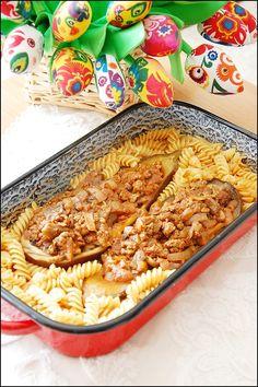 Przetwórstwo Spożywcze Łabimex: Faszerowany bakłażan z makaronem i pieczarkami Łab...