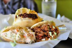 Arepas were originally made by the indigenous inhabitants of Venezuela and Colombia. These small corncakes are sold in Venezuelan restaurant...