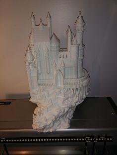 """""""Castle print, about 80 hours job @ 100 microns layers"""" -Daniel L."""