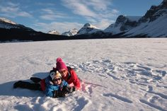 Family wilderness getaways in Banff National Park