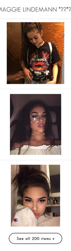 """""""MAGGIE LINDEMANN *✲゚*。✧"""" by disney-clipper ❤ liked on Polyvore featuring accessories, eyewear, sunglasses, clear glasses, clear sunglasses and clear eyewear"""