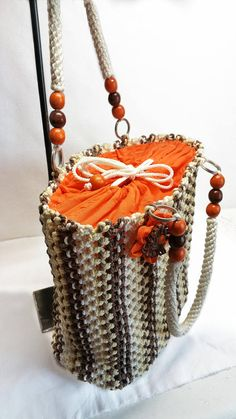 For most women, getting a genuine designer handbag is not something to rush straight into. Since these bags can easily be so high priced, most women typically agonize over their choices prior to making an actual bag purchase. (Re:Girls Pouch. Macrame Bag, Micro Macrame, Foldover Bag, Cheap Bags, Bead Crochet, Crochet Baby, Summer Bags, Knitted Bags, Brown Beige