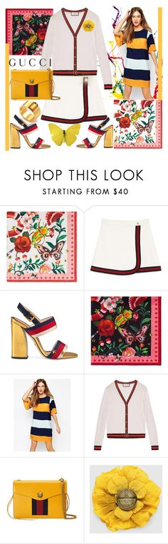 """Gucci"" by vaslida ❤ liked on Polyvore featuring Gucci and Vero Moda"