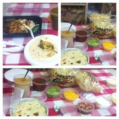It was a Pappasito's lunch today!! Can you say Yummy!! Thanks Josh