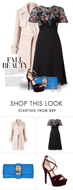 """""""~Fall Night Life~ 4601"""" by boxthoughts ❤ liked on Polyvore featuring Miss Selfridge, Raishma, Hermès, Jessica Simpson and Anyallerie"""