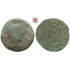Römische Provinzialprägungen, Kilikien, Anemurion, Valerianus I., Bronze 255/256 (Jahr 3), s/ss: Kilikien, Anemurion. Bronze 25 mm… #coins