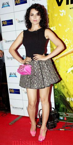Kangna Ranaut (photo courtesy   Yogen Shah for MissMalini)