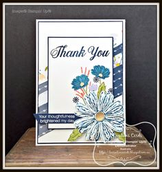 KOCreations Stampin' Up! Blog: Thank You Daisy Delight - #GDP086