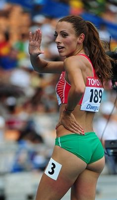 Ivet Lalova, Track and Field