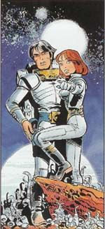 Valérian and Laureline also known as Valérian: Spatio-Temporal Agent or just Valérian, is a French science fiction comics series, created by writer Pierre Christin and artist Jean-Claude Mézières.