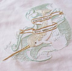 Narwhal Summer Stitchalong