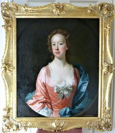Portrait said to be of Sarah Wilson c.1750; Attributed to Allan Ramsay.