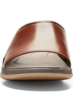 Cole Haan 2.ZeroGrand Slide Sandal (Men) | Nordstrom Easy Fire Pit, Slide Sandals, Men's Sandals, Cole Haan, Wardrobe Staples, Cuff Bracelets, Footwear, Nordstrom, Mens Fashion