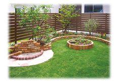Outdoor Patio Designs, Outdoor Decor, Food Company Logo, Circular Lawn, Fence Options, Vinegar Uses, Vegetable Garden Design, Herb Garden, Stepping Stones