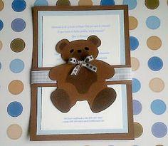 Mara Handmade Cards: Invitaciones Baby Shower