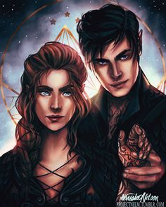 Feyre and Rhys