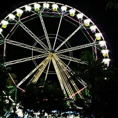 Wheel of Fate (Night Shot) Located at the Midway Boardwalk
