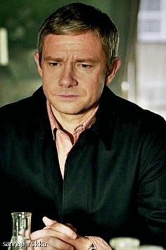 John Watson face palm... It's an eyebrow smoothing. He smooths his eyebrows when he stressed. What a classy guy.