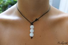 DIY Knotted Pearl Necklace Tutorial