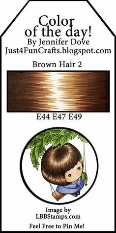 Brown hair 2