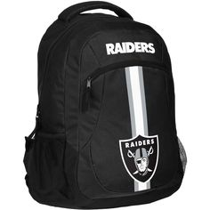 Oakland Raiders NFL Action Backpack