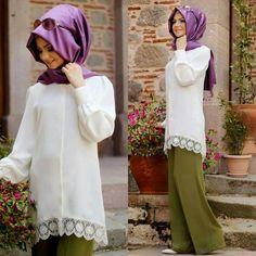 Pınar Şems yazlık tunik Muslim Fashion, Hijab Fashion, Nice Dresses, Sewing Projects, Model, Clothes, Beautiful, Style, Shoes