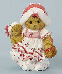 Look what I found on #zulily! Basket of Cherries Figurine #zulilyfinds
