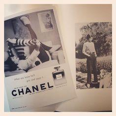 Ausschnitt aus dem Ausstellungskatalog #Chanel N5 #annabellebeauty