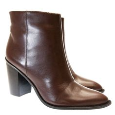 Bota Cano Curto Vinho 545 Valentina | Moselle sapatos finos femininos! Moselle sua boutique online.