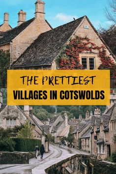 Wondering what are the most Instagrammable places in Cotwolds and what are Cotswolds' most photogenic villages? Look no further, in this post, you will find a guide to the most Instagrammable villages in Cotswolds!