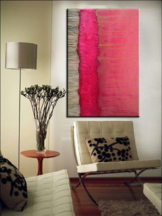 Custom Abstract Mixed Media Painting by Kim Bosco on Etsy, $425.00