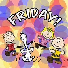Meta da minha sexta feira: Fazer o que me faz FELIZ!!  #goodmorning #friday #snoopy #charliebrown #linus #sally #peanuts