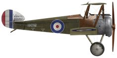 Royal Flying Corps, Sopwith Camel.